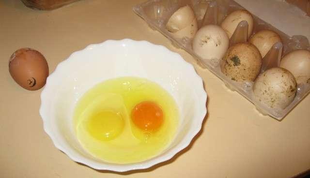 как отличить домашнее яйцо от магазинного