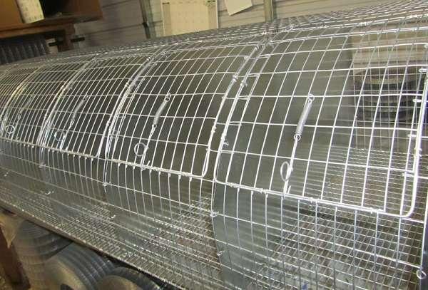металлические клетки для кроликов чертежи с размерами