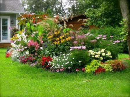 Высадив, например, на одной клумбе сорта растений, которые цветут в разное время, можно добиться, чтобы она не пустовала на протяжении всего теплого периода.