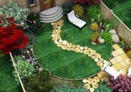 Наш сайт для фермеровподготовил для вас тему - ландшафтный дизайн маленького дачного участка.