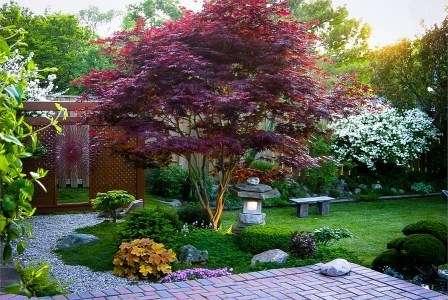 Простые композиции, главными элементами которых являются камни, растения и вода, имеют особенный, скрытый смысл.