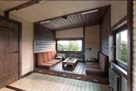 Утепление здания поможет любоваться природой в любое время года.