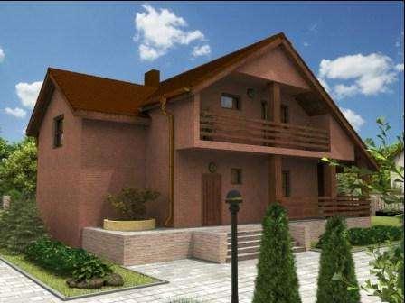 Дачный домик для 6 соток: фото, проекты и описание