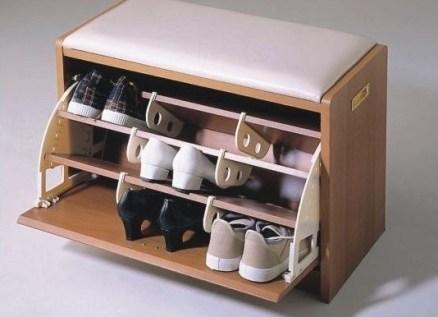 Банкетки в прихожую с ящиком для обуви: конструкция, материал, форма, процесс сборки и особенности