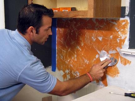 Приготовление фактурной штукатурки: состав и пропорции