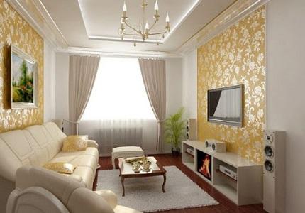 Что нужно знать и как правильно делать ремонт в гостиной