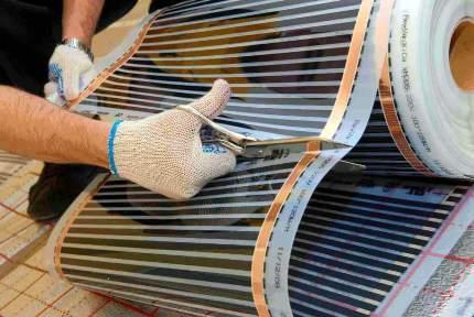 Инфракрасный теплый пол под плитку: преимущества, недостатки и рекомендации по монтажу системы