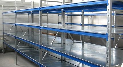 Технология изготовления металлических стеллажей: что необходимо как выглядит процесс производства