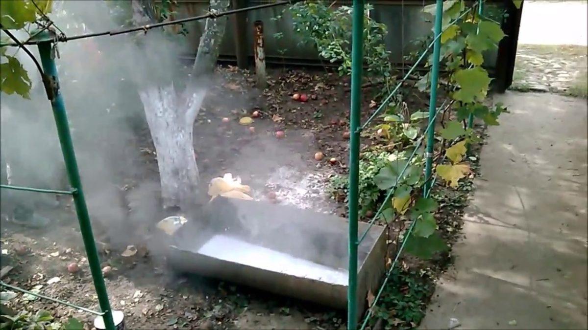 известь пушонка применение в огороде