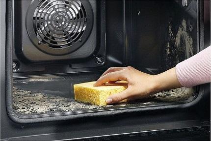 Способы и особенности чистки духовых шкафов от жира