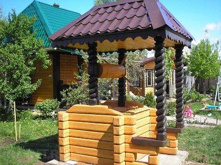Колодец на даче: виды и основные этапы строительства