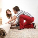 Укладка ковролина своими руками: простой метод