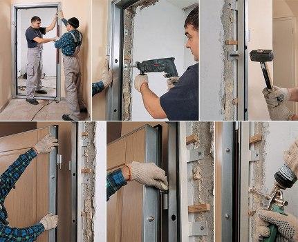Межкомнатные двери: конструкция, монтаж и особенности