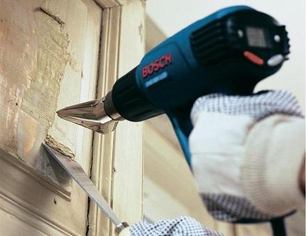 Проверенные способы очистки стен от старой краски