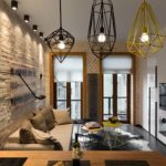 Характеристики и идеи оформления освещения в стиле лофт