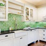 Фартук для кухни из плитки: размер, преимущества и советы