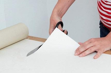 Рекомендации профессионалов по поклейке бумажных обоев