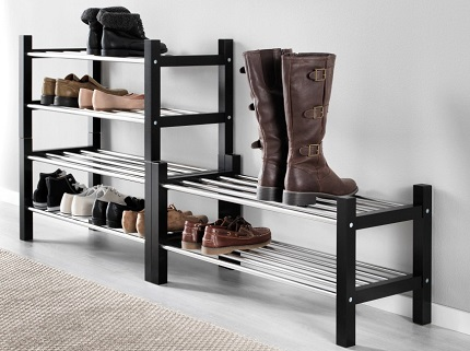 Выбор полок для обуви: основные разновидности и их отличительные черты