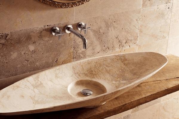 Качественный умывальник в ванную из искусственного камня