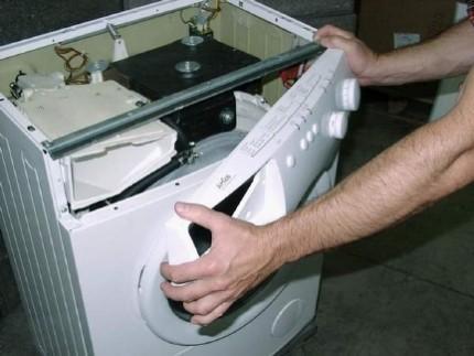 Ремонт стиральной машины самостоятельно: причины неисправности и рекомендации по устранению поломки
