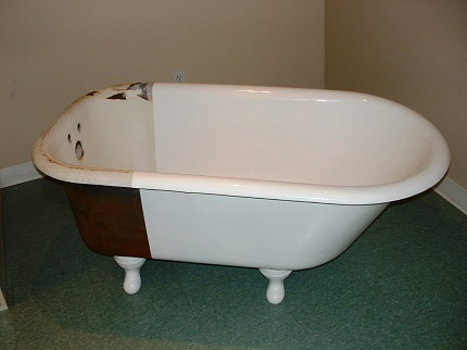 Реставрация ванны акрилом: преимущества и этапы