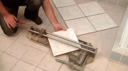Резка керамической плитки: подготовка изделия, рекомендации проведения работы и инструментарий