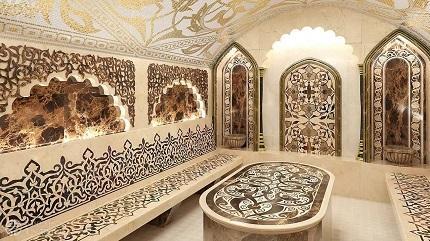 Как осуществляется строительство турецкой бани и каких правил необходимо придерживаться в работе