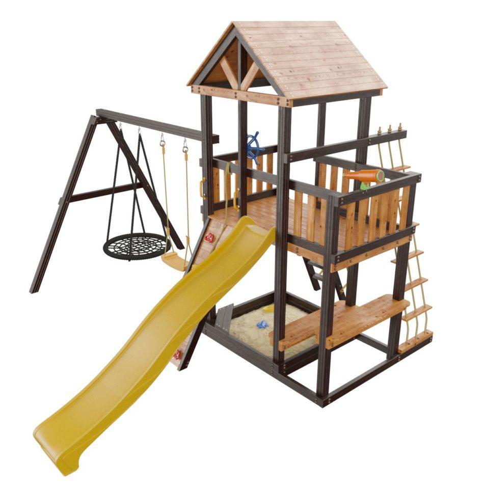 Критерии выбора детских игровых площадок для собственной дачи