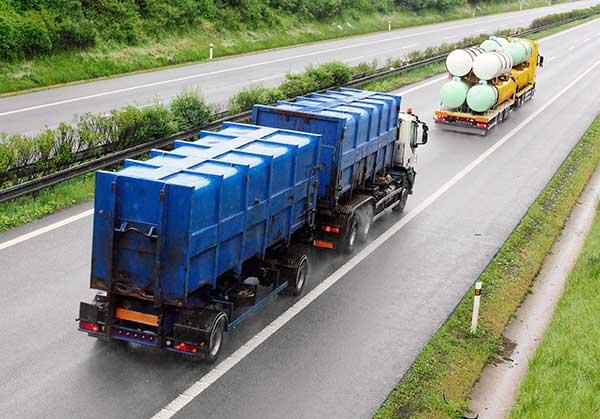 Транспортировка отходов