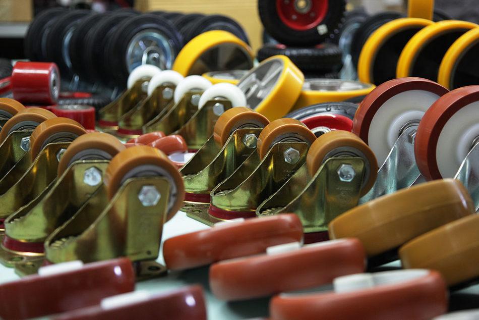 Особенности промышленных колес