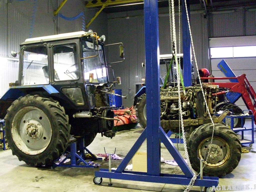 Как выполнить ремонт тракторов МТЗ
