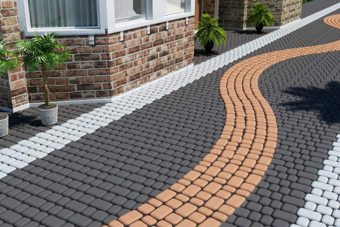 Почему плитка для оформления тротуаров пользуется спросом
